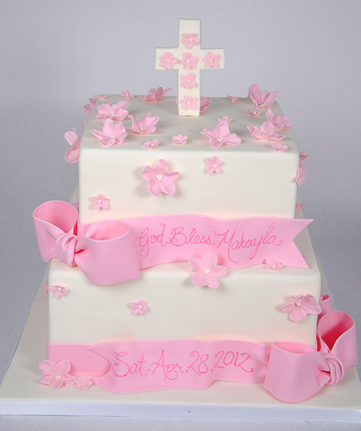 Baptism, Christening and Communion Cakes - For the Love of Cake