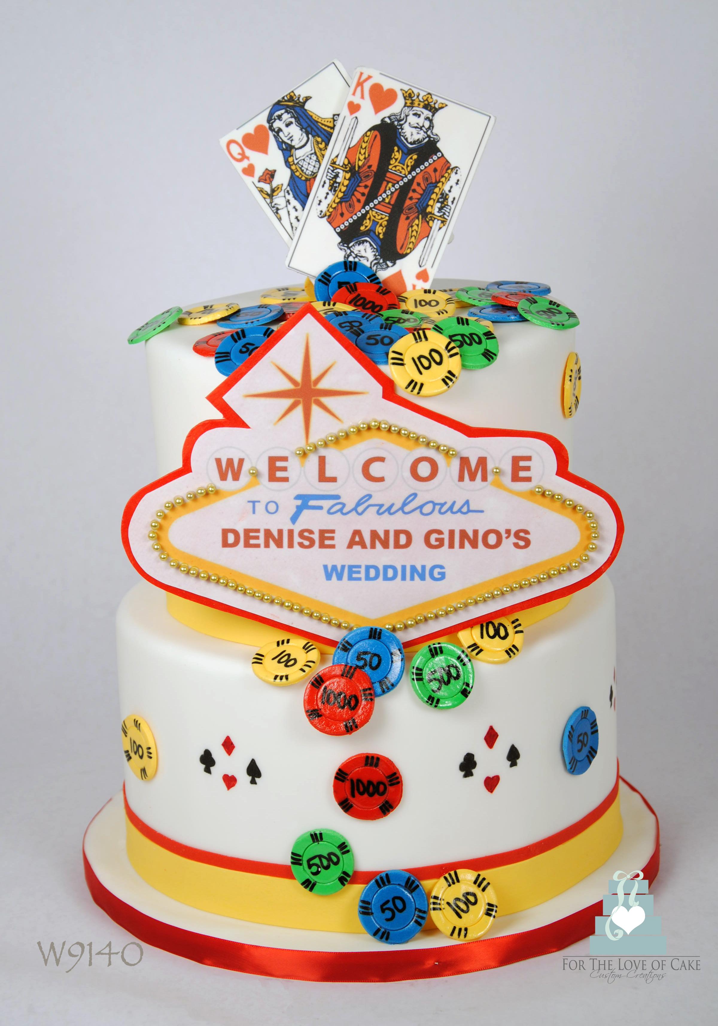 Vegas For The Love Of Cake Toronto Custom