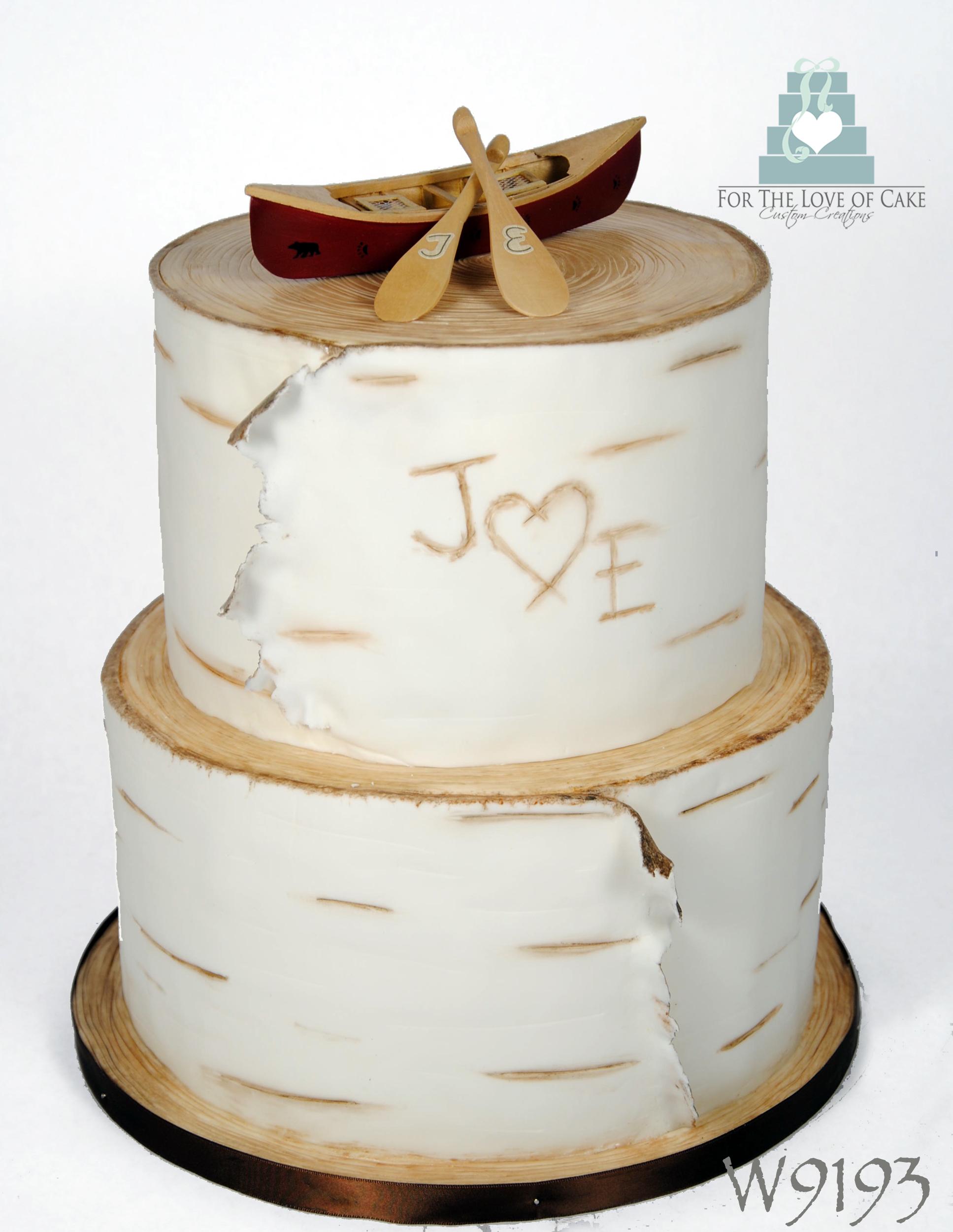 Birch Bark For The Love Of Cake Toronto