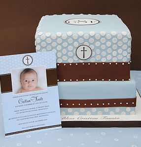 Baptism, Christening and Communion Cakes