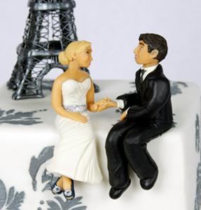 Custom Bride & Groom Toppers