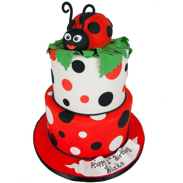 Ladybug-Cake-For-The-Love-Of-Cake-Toronto-Custom-Wedding-Birthday-Cakes-Cupcakes-Bakery-Toronto-GTA-Delivery