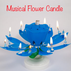 Musical-Flower-Candle-For-The-Love-Of-Cake-Toronto-Custom-Wedding-Birthday-Cakes-Cupcakes-Bakery-Toronto-GTA-Delivery